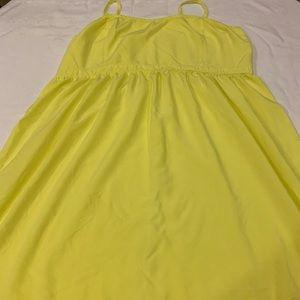 Old Navy XXL Yellow Sundress